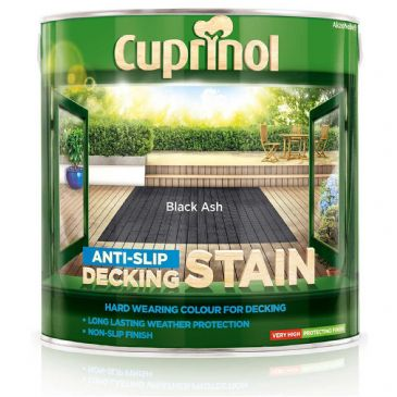 Cuprinol 2.5L Black Ash decking stain